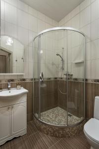 Ванная комната в Сити-отель