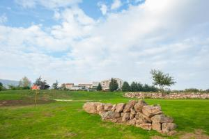 A garden outside Domaine De Saint Clair Spa & Golf