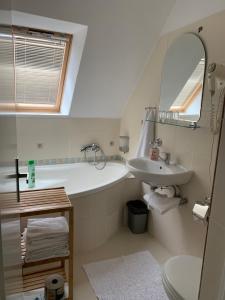 Kúpeľňa v ubytovaní Penzion Holiday