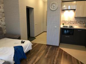 Кухня или мини-кухня в Sunny Svetlogorsk 22