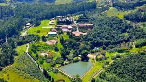 A bird's-eye view of Hotel Villa Rossa