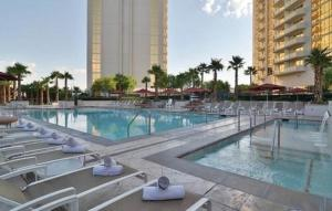 The swimming pool at or near The Signature at MGM Grand by Suiteness