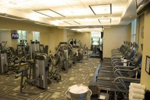 The fitness center and/or fitness facilities at The Signature at MGM Grand by Suiteness