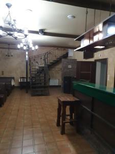 Лобби или стойка регистрации в Гостиница Камелот