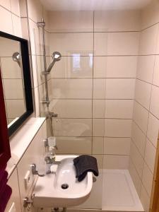 Ein Badezimmer in der Unterkunft Gradlhof