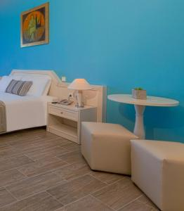 A seating area at Kipriotis Panorama Hotel & Suites