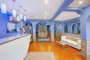 The lobby or reception area at Urban Hotel Santa Eulalia