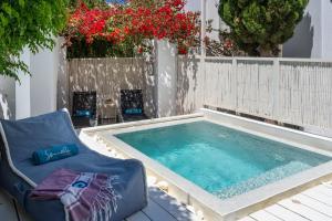 The swimming pool at or near Semeli Hotel