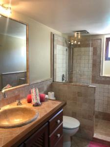 A bathroom at Ses llimoneres