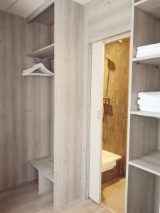 Salle de bains dans l'établissement Hotel Sfinx