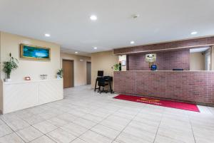 The lobby or reception area at Econo Lodge Painted Post