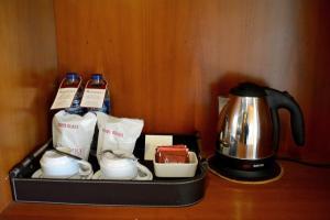 Coffee and tea-making facilities at Manohara Resort