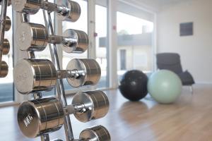 Fitnesscentret og/eller fitnessfaciliteterne på Hotel Marina