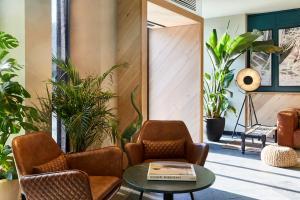 The lobby or reception area at Hotel Indigo Antwerp City Centre, an IHG Hotel