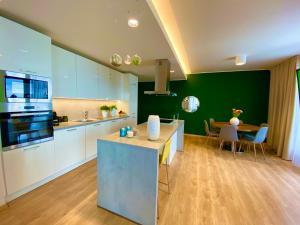 Cucina o angolo cottura di Wellness Apartments Hamberger