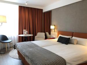Cama o camas de una habitación en Danubius Hotel Erzsébet City Center