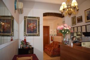 The lobby or reception area at Hotel Dalmazia