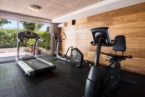 The fitness center and/or fitness facilities at Costa Colonia - Riverside Boutique Hotel