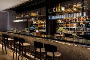 The lounge or bar area at Radisson Blu Edwardian Mercer Street Hotel, London