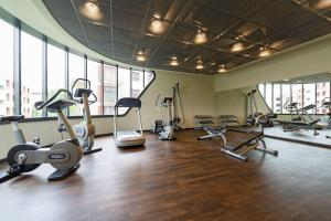 Palestra o centro fitness di Park Inn by Radisson Krakow