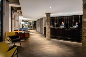 The lobby or reception area at Radisson Blu Edwardian Mercer Street Hotel, London
