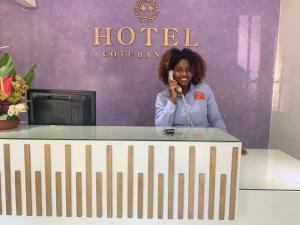Lobby/Rezeption in der Unterkunft Hotel Cotubanama Samaná