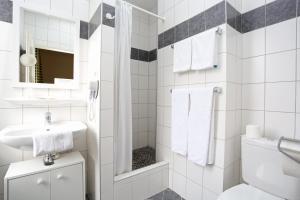 A bathroom at Hotel Berlioz Basel Airport