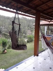 Children's play area at Sitio Zocatelli