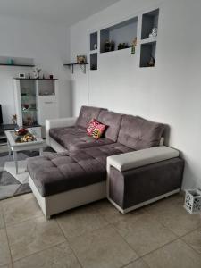 A seating area at Casa Mirela