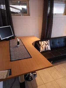 Телевизор и/или развлекательный центр в Malvik