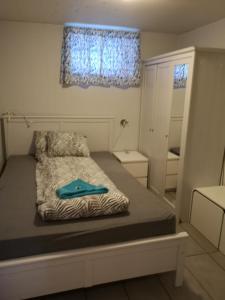 Кровать или кровати в номере Malvik