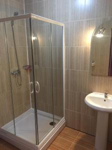 A bathroom at Casa Someseana
