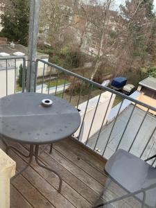 A balcony or terrace at Wilhelmstrasse 109C
