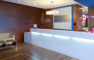 Hol lub recepcja w obiekcie Hampton by Hilton Gdansk Airport