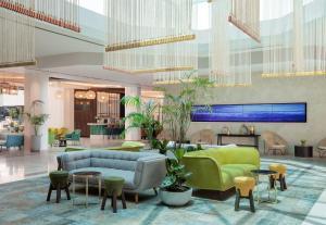 הלובי או אזור הקבלה ב-Vert Hotel Eilat