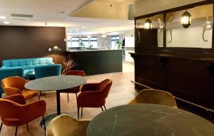 The lobby or reception area at Koto Hotel Pihtipudas
