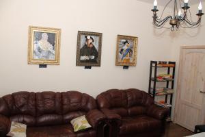 Гостиная зона в Апартаменты на Выборгской