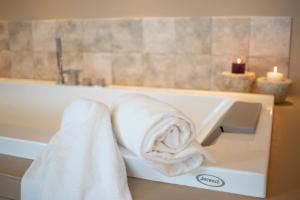 A bathroom at Hotel Dimorae