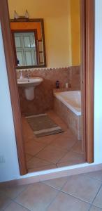 A bathroom at VelaLatina