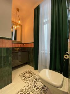 A bathroom at Nordischer Hof Apartments