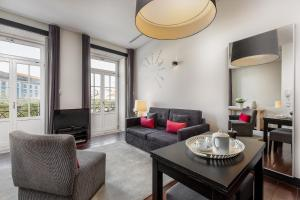Zona de estar de Your Opo Torre Apartments