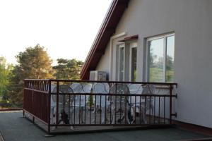 A balcony or terrace at Villa Sukka