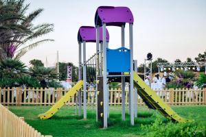 De kinderspeelruimte van Golden Tulip Taj Sultan Resort
