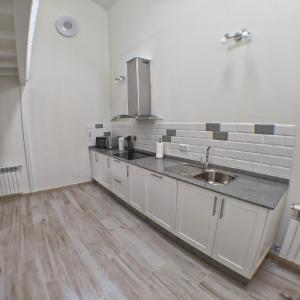 A kitchen or kitchenette at Sosego d'Oruxo