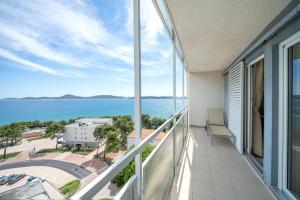 A balcony or terrace at Hotel Punta