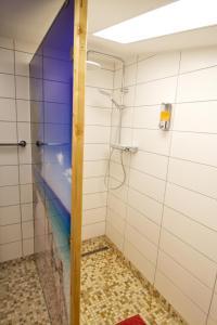 A bathroom at Esprit Hotel