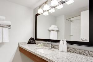 A bathroom at Holiday Inn Ottawa East, an IHG Hotel