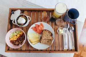 Breakfast options available to guests at LEGASEA - Cascais Guesthouse