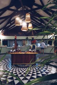 A restaurant or other place to eat at Mawamba Lodge