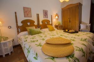 Cama o camas de una habitación en Casa Rural El Tenado